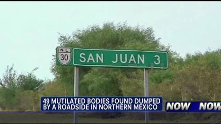 Mexican Police Discover 49 Mutilated Bodies By the Roadside in Town Near Border