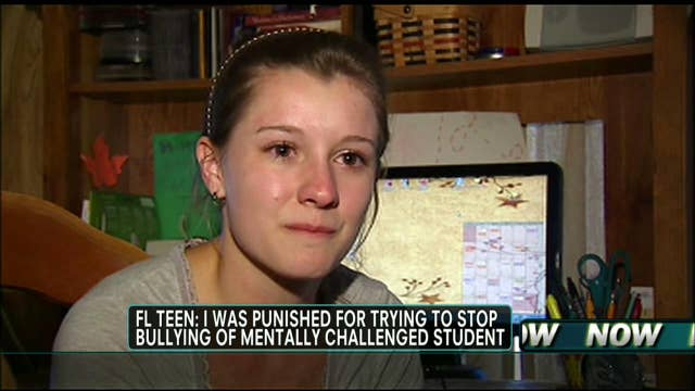 Florida Teen Being Punished for Trying to Defend Mentally-Challenged Student From Bullies