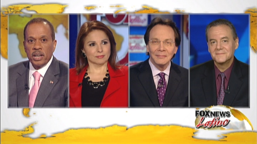 Fox News Latino's first Immigration Panel with Juan Williams.