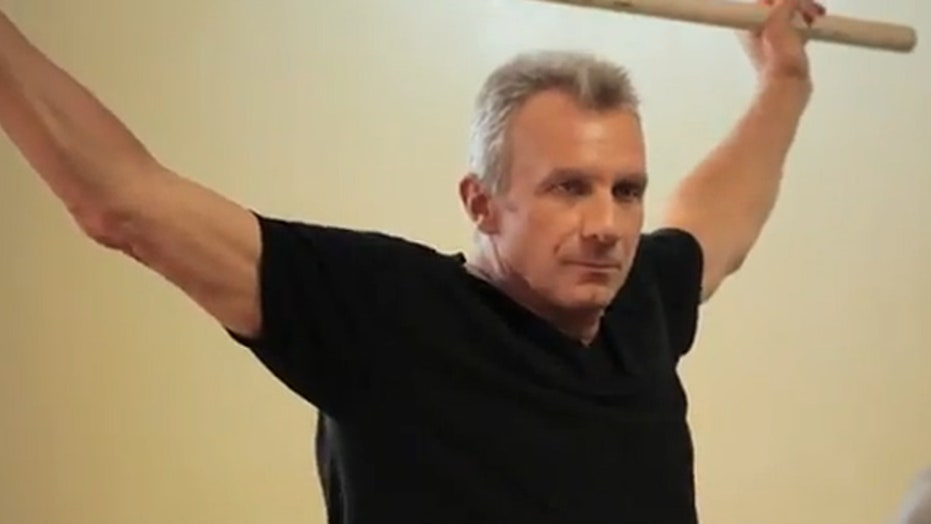 Training with Joe Montana