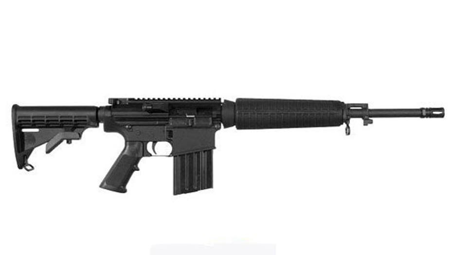 Delivery mix-up: TV purchased, assault rifle delivered