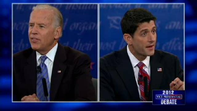"Biden to Ryan, ""Oh, Now You're Jack Kennedy?"