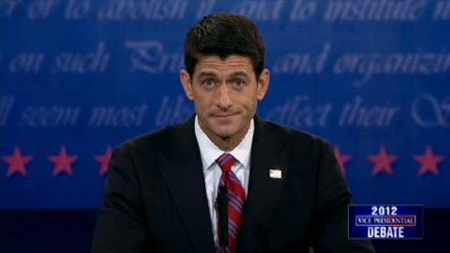 Video: Watch Paul Ryan's Closing Remarks in the Vice Presidential Debate
