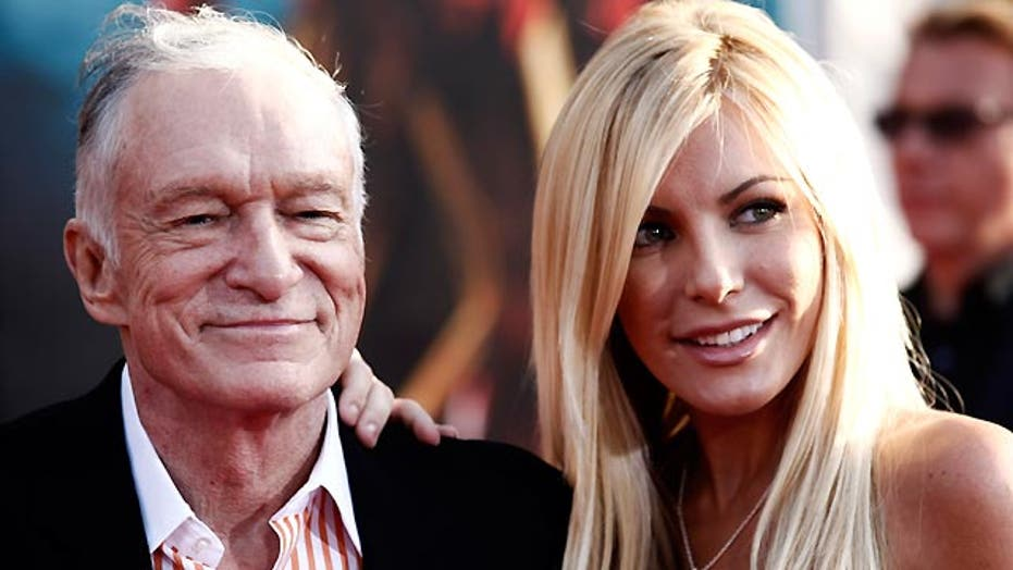 Can Hef trust Crystal to make it down the aisle?