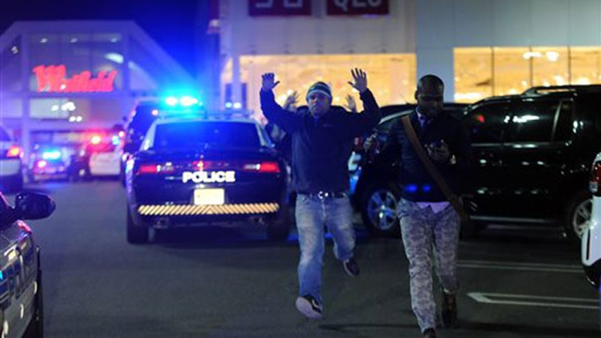 Police officials in New Jersey say the man who opened fire at the Garden State Plaza mall in Paramus is dead.