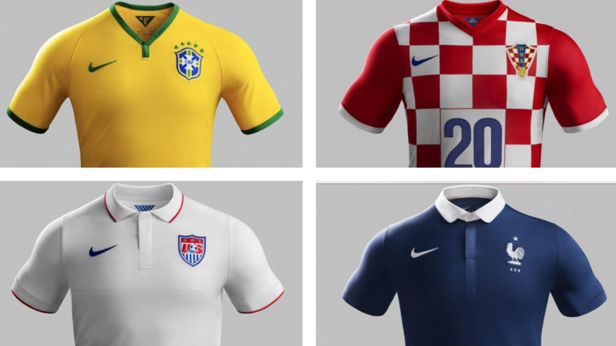 A look at the some of the best- and the worst-dressed teams when they take the field at the World Cup.