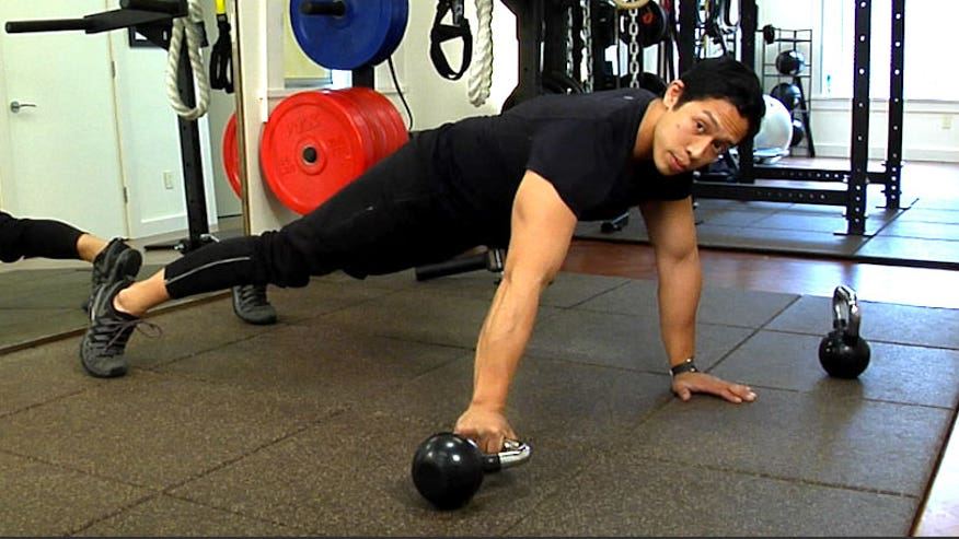 Fitness Expert, Dennis Remorca shows us three moves to strengthen your upper body.