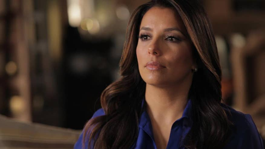 "Eva Longoria talks about her new documentary ""Food Chains"" about farm workers in Florida."
