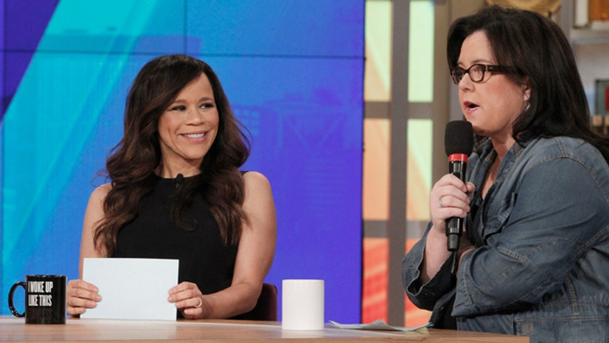 "Rosie Perez opened up about working on ""The View"" and her new campaign with Pine Sol."