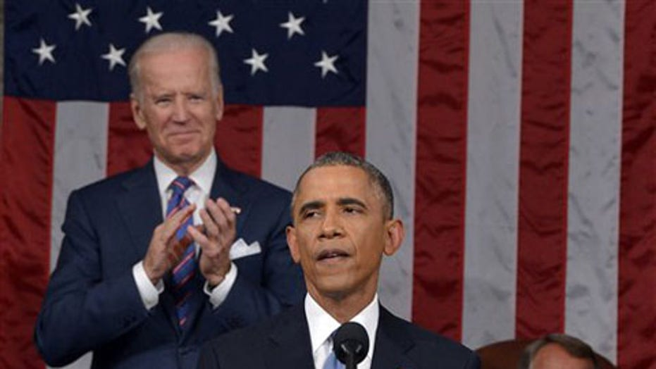 Obama's State of the Union: Split-screen sort of response