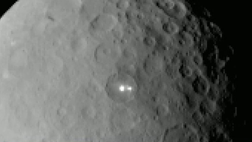 Dawn spacecraft releases images from Ceres