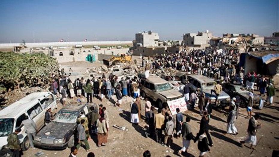 Saudi Arabia launches airstrikes in Yemen