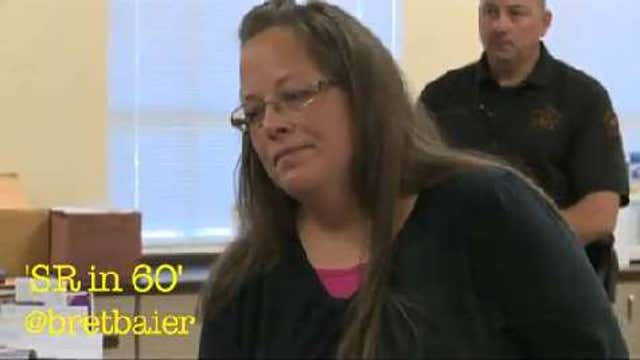 Kentucky Count Clerk Jailed