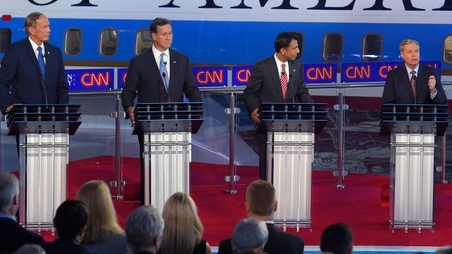 Early presidential debate offered candidates chance to shine