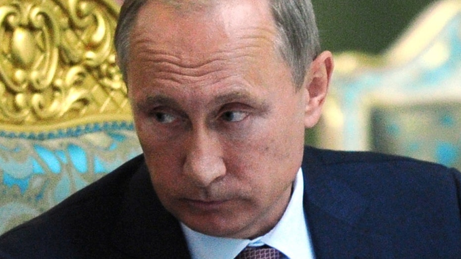 Putin sends ground troops into Syria