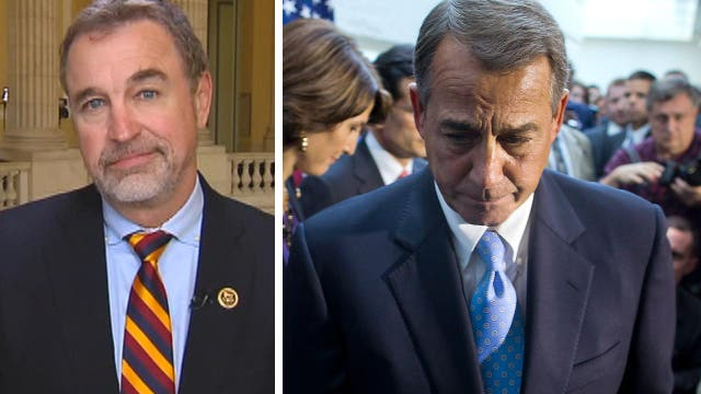 Republican Boehner critic: Time to put people back in charge