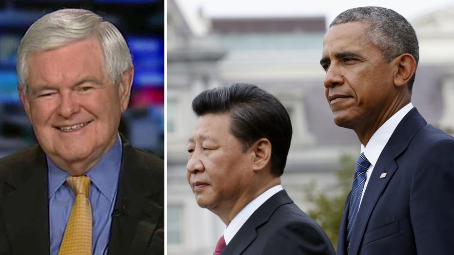 Gingrich slams US China policy: All weakness, no achievement