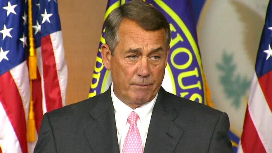 Boehner: Stepping down to avoid prolonged leadership turmoil