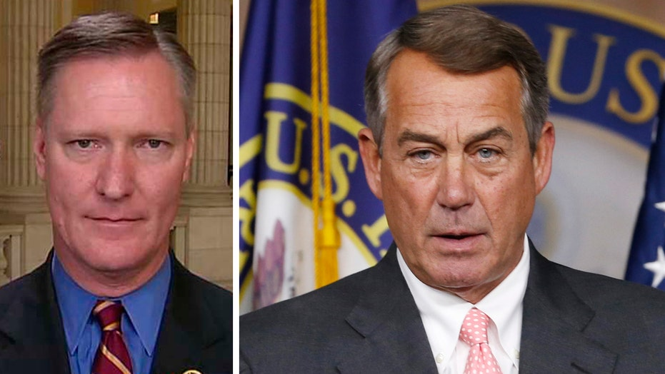 Republican Boehner supporter: Resignation a 'selfless act'
