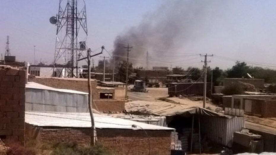Taliban forces take over Afghan city of Kunduz