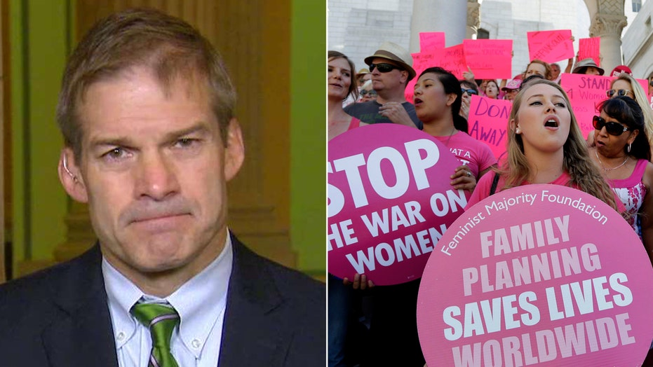 Rep. Jordan: Planned Parenthood 'can't have it both way