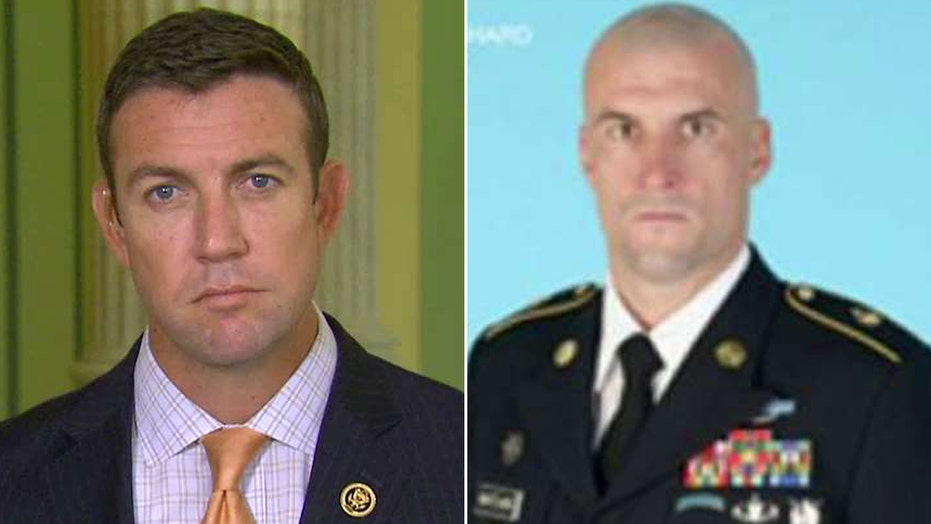 Lawmaker blasts 'cowardice' behind discharge of Green Beret