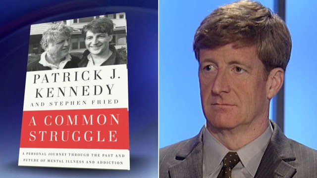 Patrick Kennedy fighting stigma surrounding addiction
