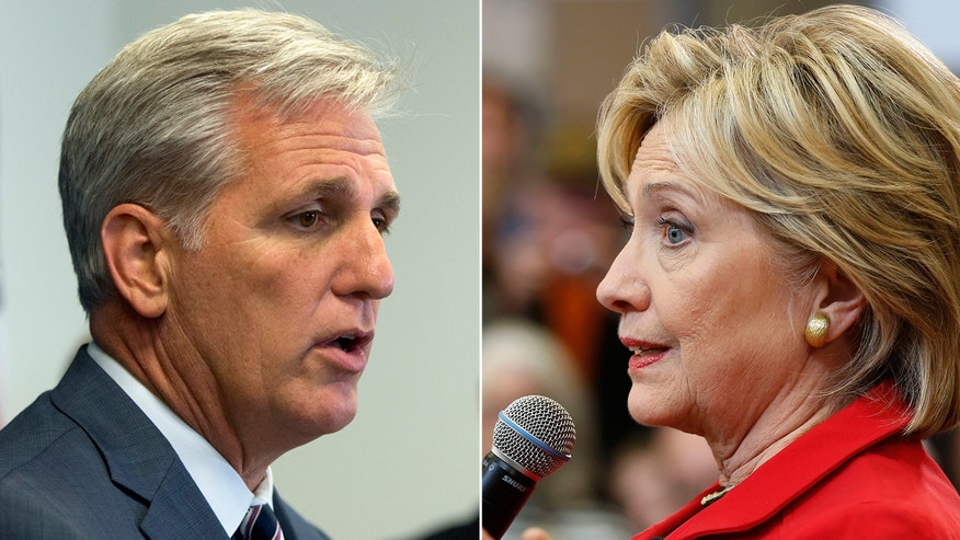 Democratic presidential candidate claims Kevin McCarthy's remarks reveal partisan intent