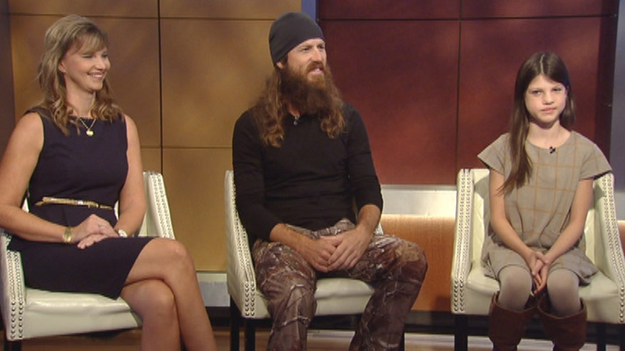 Jase and Missy Robertson's daughter Mia was born with a cleft palate