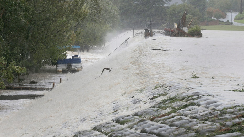 Flood waters breach dams in South Carolina