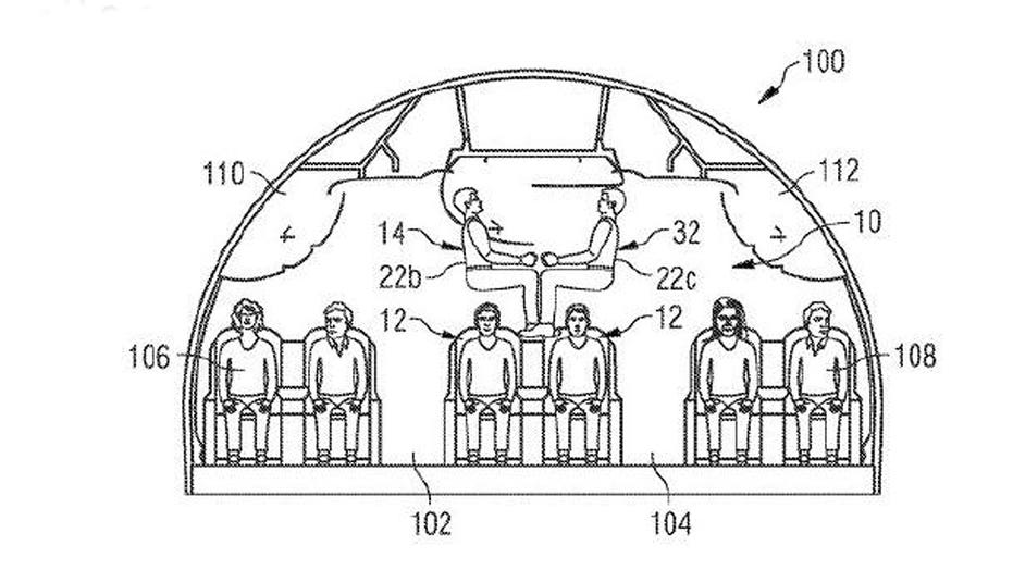 Are stacked passengers the future of air travel?