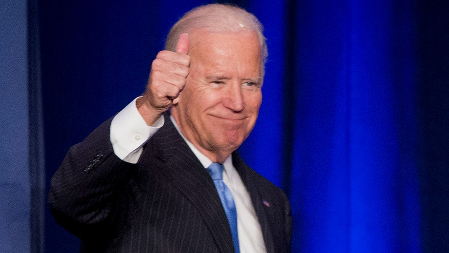 Group launches ad even though Biden has not officially announcing a 2016 run