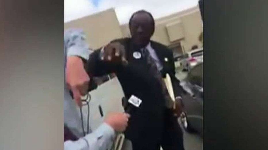 Political punch! Alabama city commissioner attacks reporter