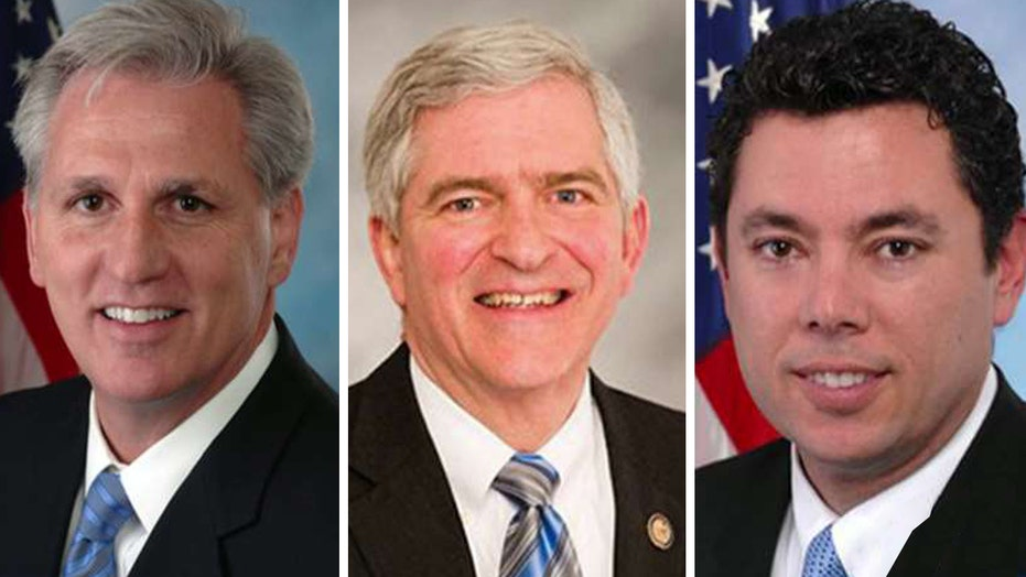House Speaker candidates rally to win conservative support