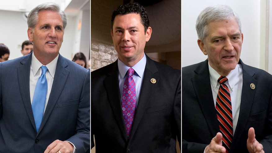 Kevin McCarthy, Jason Chaffetz and Daniel Webster throw their hats into the ring