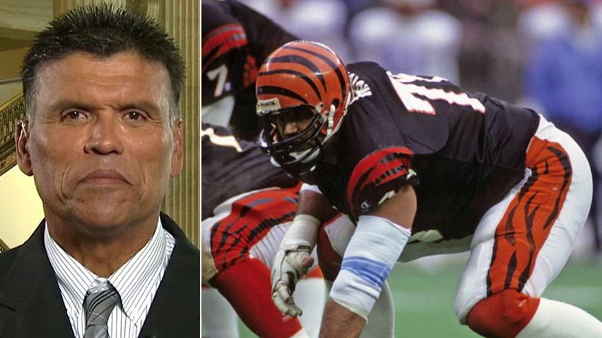 Former Cincinnati Bengal Anthony Munoz explains the positive message he's bringing to Washington on 'America's Newsroom'