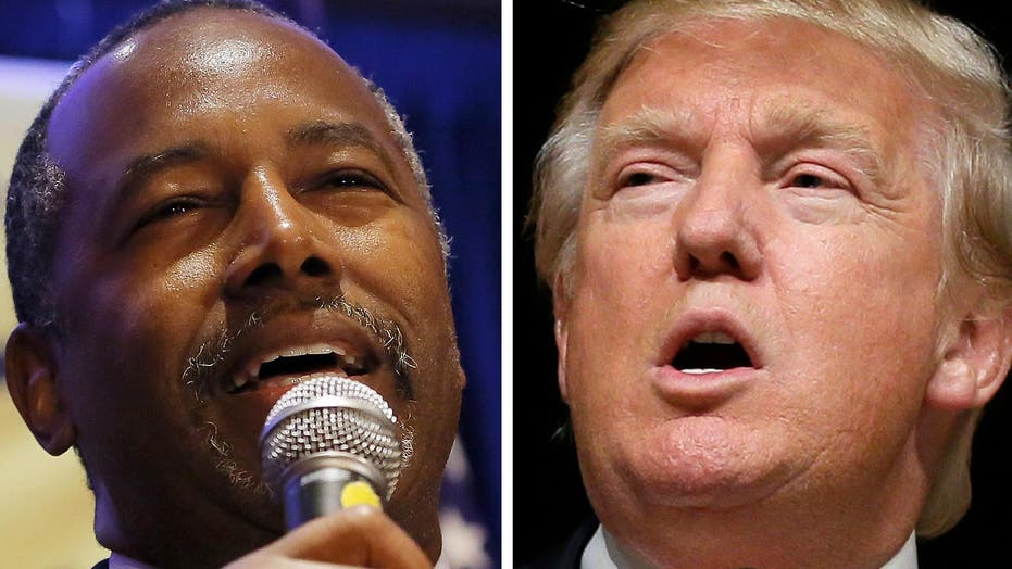 Trump, Carson in battle for Iowa's evangelical voters