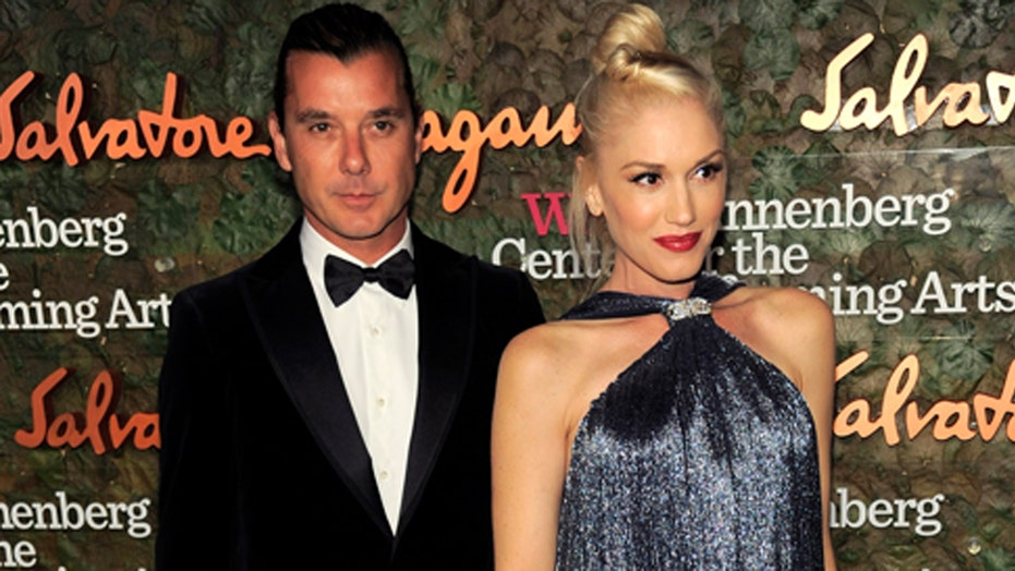Gavin Rossdale with the hot nanny?