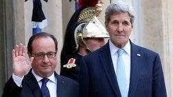 Secretary of State John Kerry, during a visit to Paris in the wake of Friday's Islamic State terror attacks, doubled down on the anti-ISIS strategy and said the U.S. would increase its efforts.