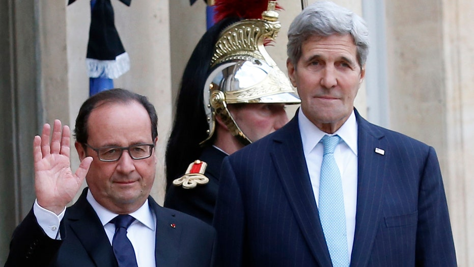 John Kerry visits France following Paris attacks