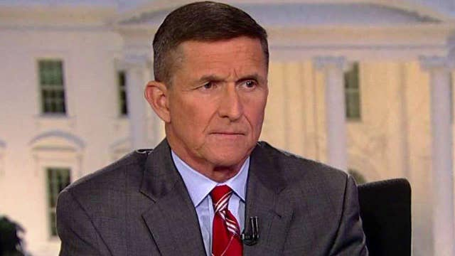 Gen. Flynn discusses intelligence Obama received on ISIS