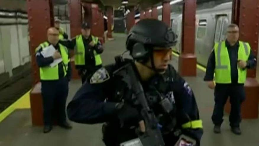 NYPD, emergency responders hold active shooter drill
