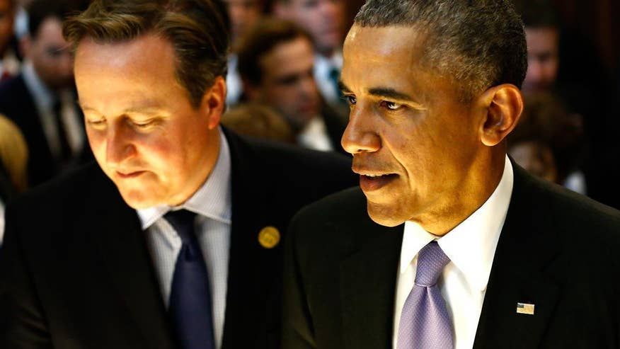 'On the Record' dissects the differences in the ways President Obama and British Prime Minister David Cameron respond to the threat of ISIS