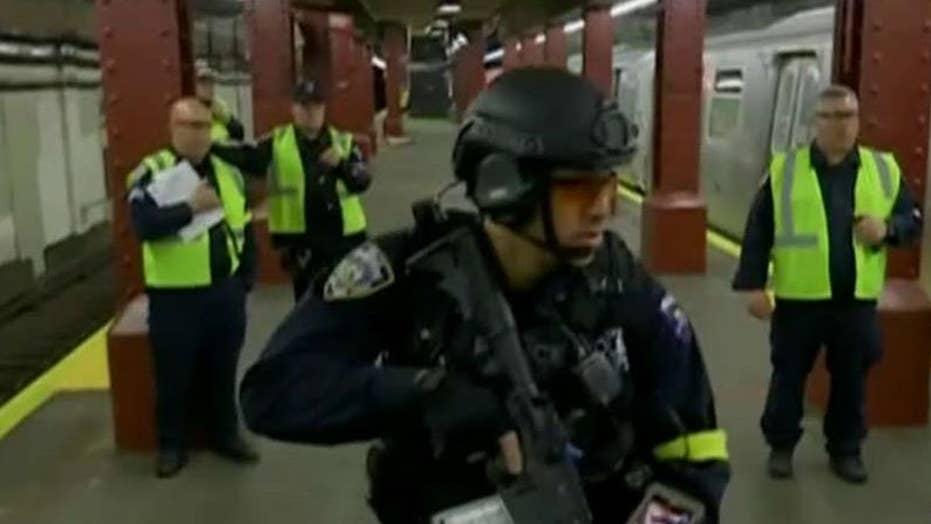 New York City holds terror drills