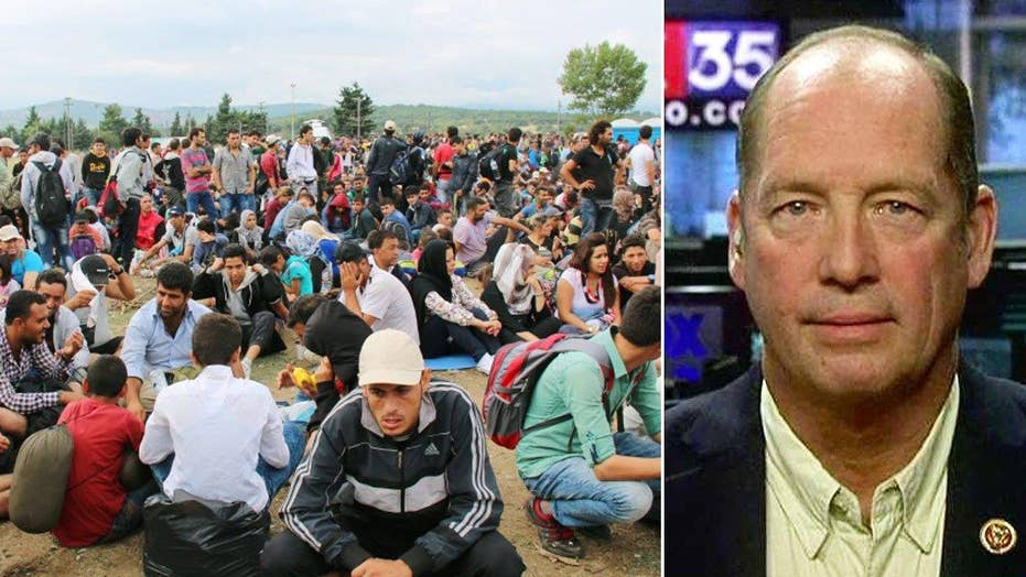 Lawmaker pushes bill to allow states to deny Syrian refugees