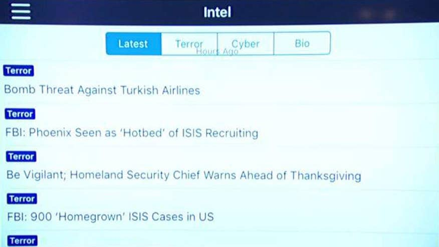 App alerts users of terror threats