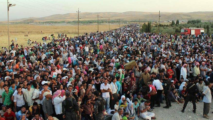 Bernie Goldberg analyzes how the media is covering the refugee crisis on 'The O'Reilly Factor'