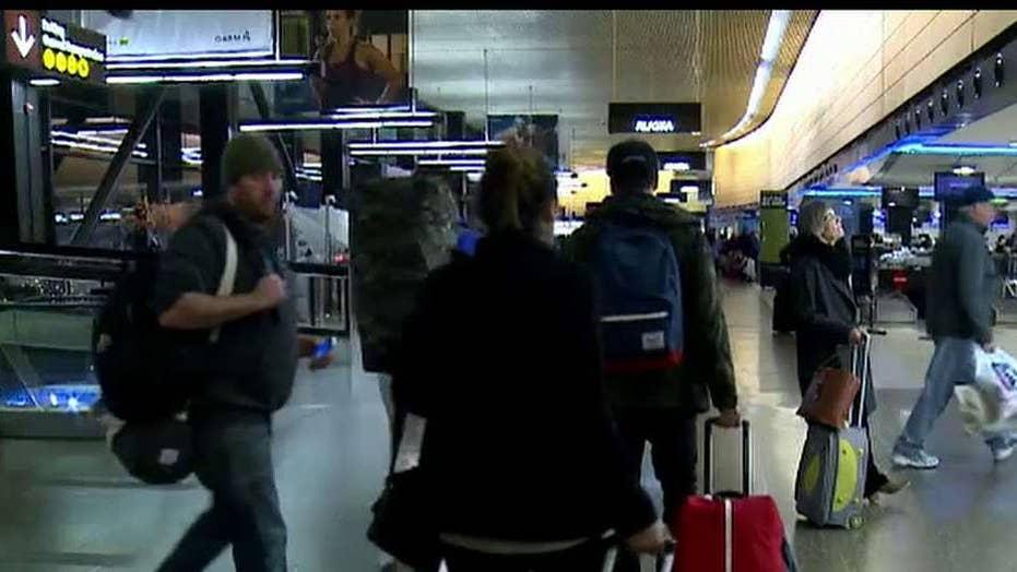 Holiday travelers warned to be vigilant