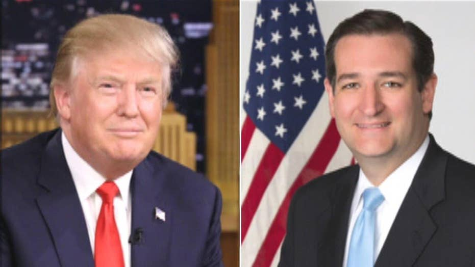 Cruz pulls nearly even with Trump in Iowa poll, Carson sinks