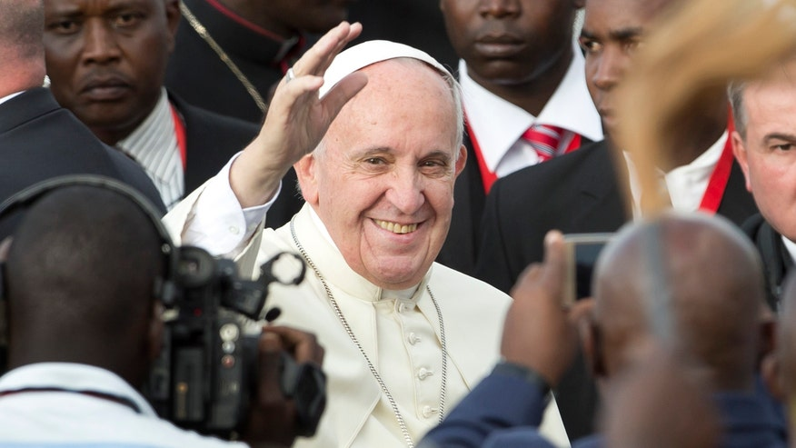 Security beefed up as Pope Francis arrives in Kenya